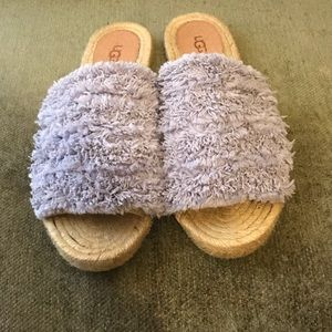 UGG Shoes - Ugg Edith Espadrille Slide Sandal